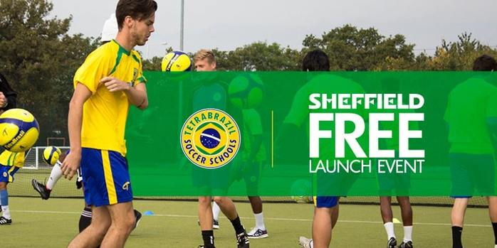 Free Football Launch Event For Kids