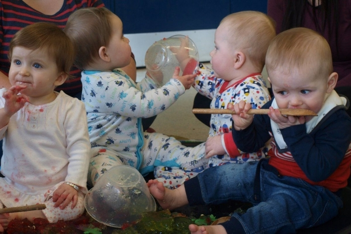 Sensory Play at William's Den