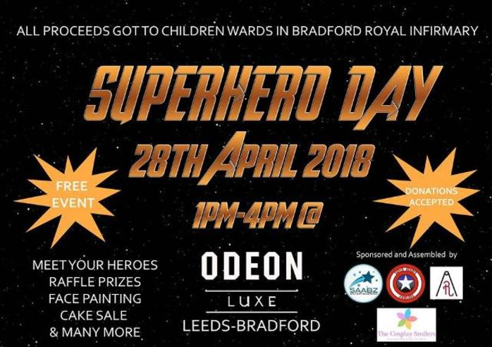 Superhero Day At Waterstones 2018